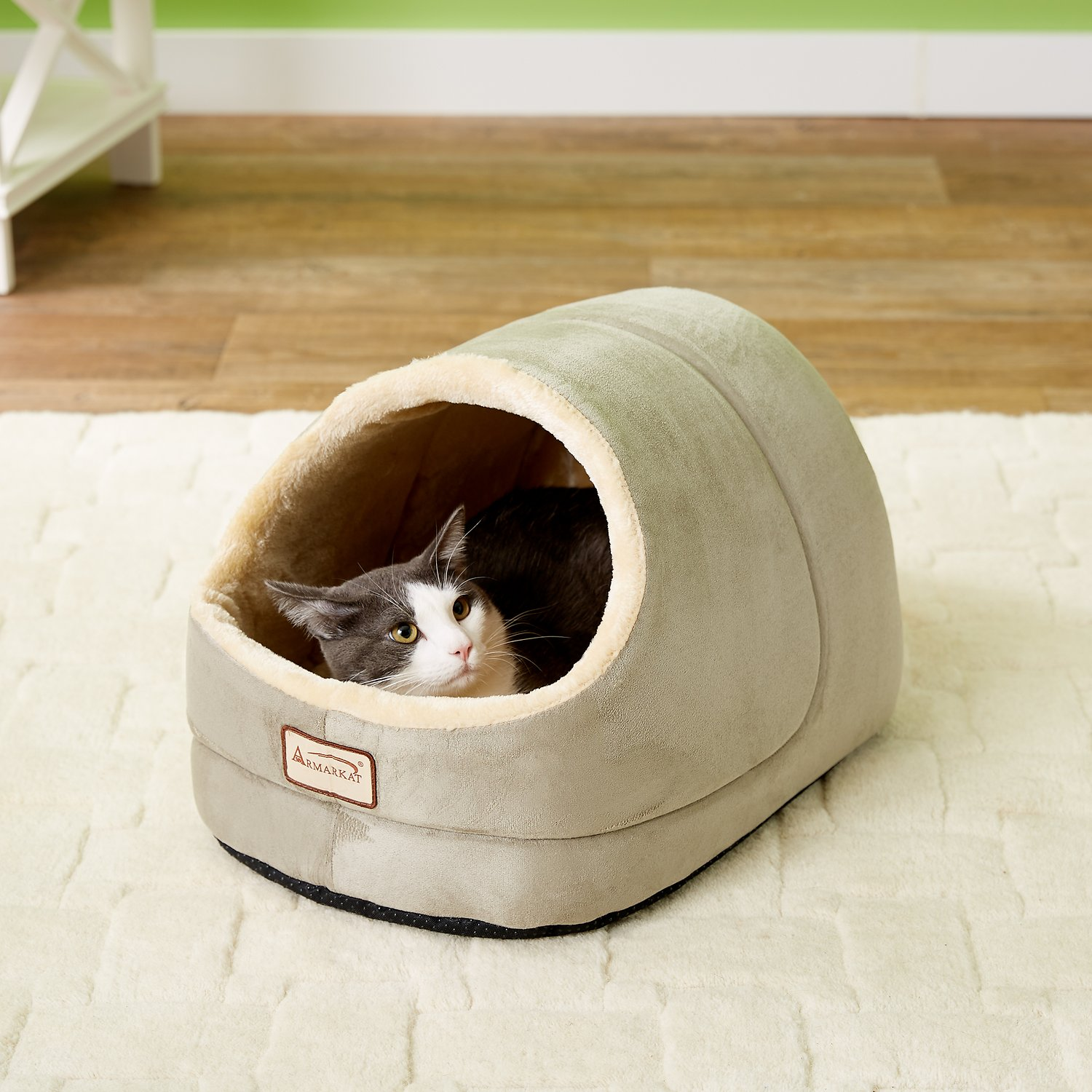Watch Armarkat Slipper Shape Pet Bed, MochaBeige video