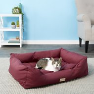 Armarkat Pet Bed, Burgundy, Medium