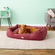Armarkat Pet Bed, Burgundy, X-Large