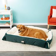Armarkat Dog Bed & Mat, Laurel Green/Ivory, X-Large