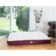 Armarkat Pet Bed Mat, Burgundy/Ivory, X-Large
