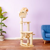 Armarkat 74-in Cat Tree, Beige