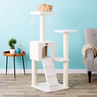 Armarkat 53-in Cat Tree, Ivory