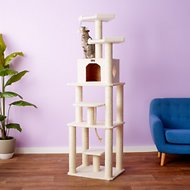 Armarkat 78-in Cat Tree, Ivory