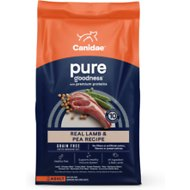 CANIDAE Grain-Free PURE Real Lamb & Pea Recipe Dry Dog Food, 24-lb bag
