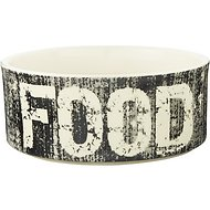 PetRageous Designs Vintage Food Pet Bowl, 3.5 cup