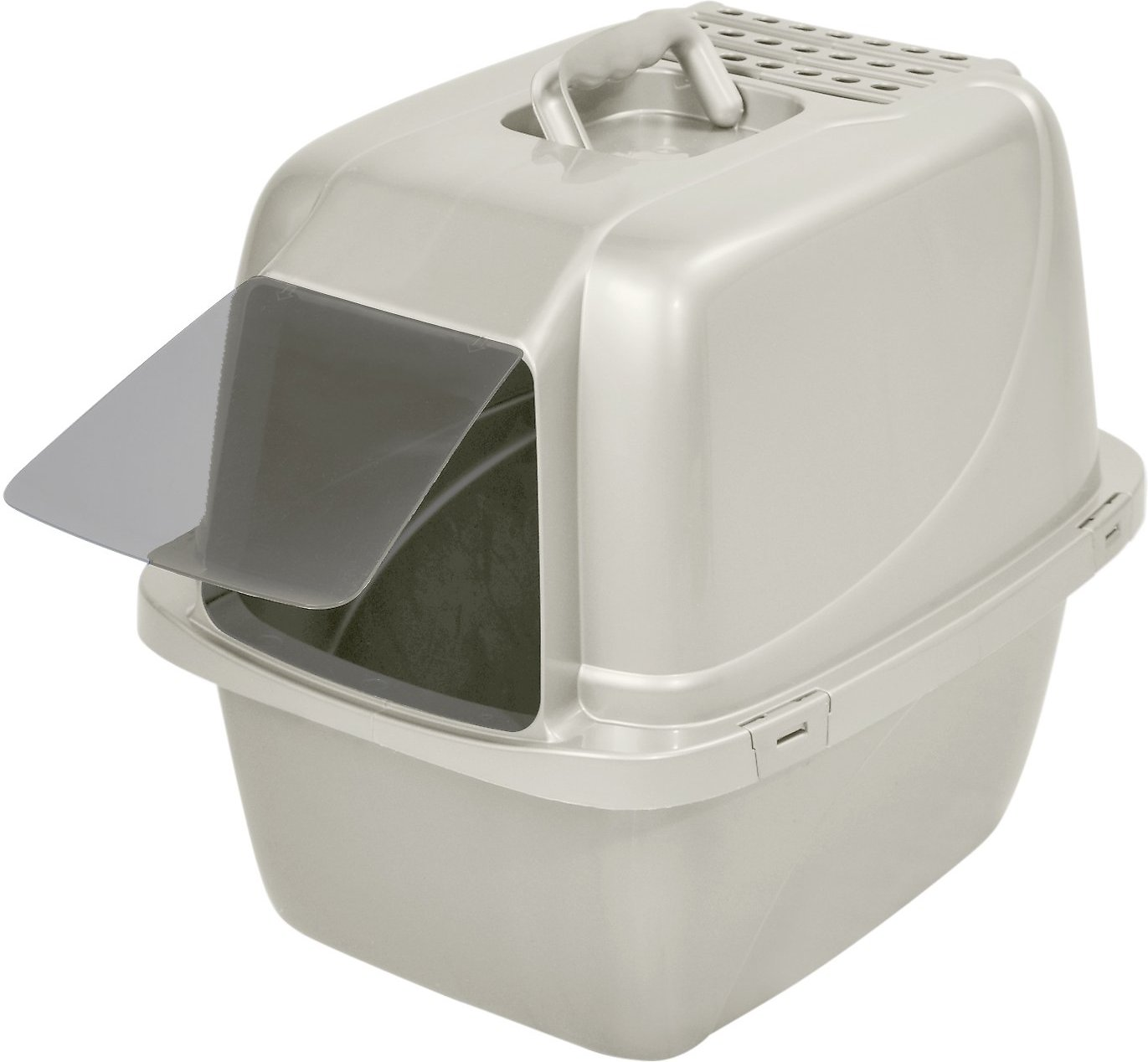 narrow litter box furniture video van ness enclosed cat litter pan large white chewycom