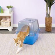 Van Ness Translucent Enclosed Cat Litter Pan, X-Large
