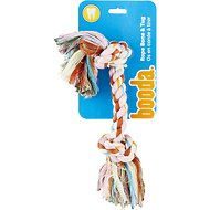Booda Multi Color 2-Knot Rope Bone Dog Toy, Large