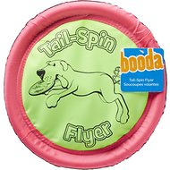 Booda Soft Bite Tail Spin Flyer Floppy Disc Dog Toy, Color Varies, Large