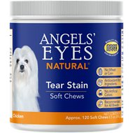 Angels' Eyes Chicken Flavored Natural Soft Chews for Dogs & Cats, 120 count