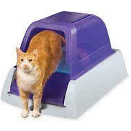 ScoopFree Ultra Self-Cleaning Cat Litter Box, Purple