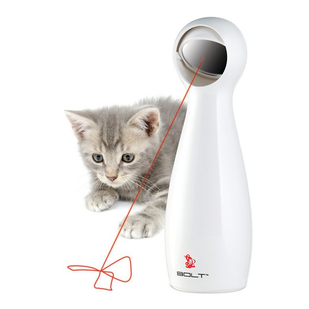 1. PetSafe Bolt Automatic Laser Cat Toy