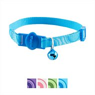 Petmate 8-12-in Eco Friendly Breakaway Adjustable Circle Cat Collar, 8-12 in, Blue