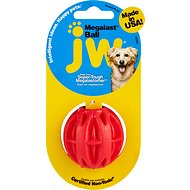 JW Pet Megalast Ball Dog Toy, Color Varies, Small