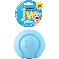 JW Pet iSqueak Bouncin' Baseball Dog Toy, Color Varies, Large