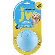 JW Pet Treat Puzzler Ball Dog Toy, Color Varies, Large