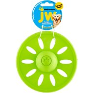 JW Pet Whirlwheel Flying Disk Dog Toy, Color Varies, Small