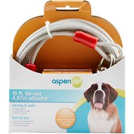 Aspen Pet X-Large Tie-Out Cable, 15-ft