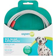 Aspen Pet Medium Tie-Out Cable, 15-ft