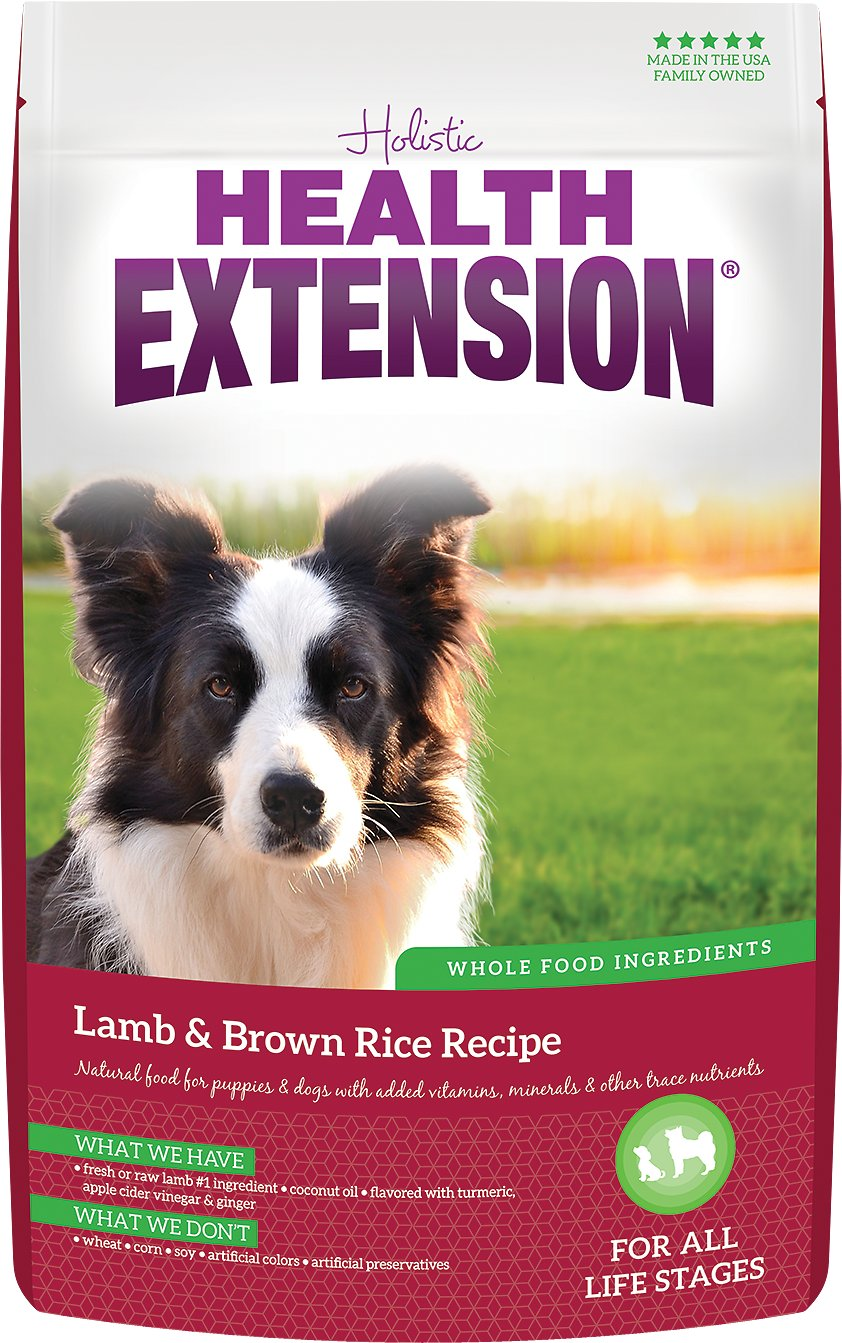 Health Extension Lamb Brown Rice Dry Dog Food