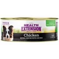 Health Extension Grain-Free Chicken Canned Dog Food, 5.5-oz, case of 24