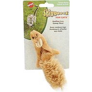 Ethical Pet Skinneeez Forest Creature with Catnip Cat Toy, Color Varies