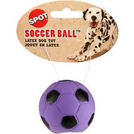 Ethical Pet Latex Soccer Ball Dog Toy, Color Varies, 2-in