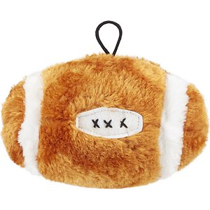Ethical Pet Football Squeaky Plush Dog Toy