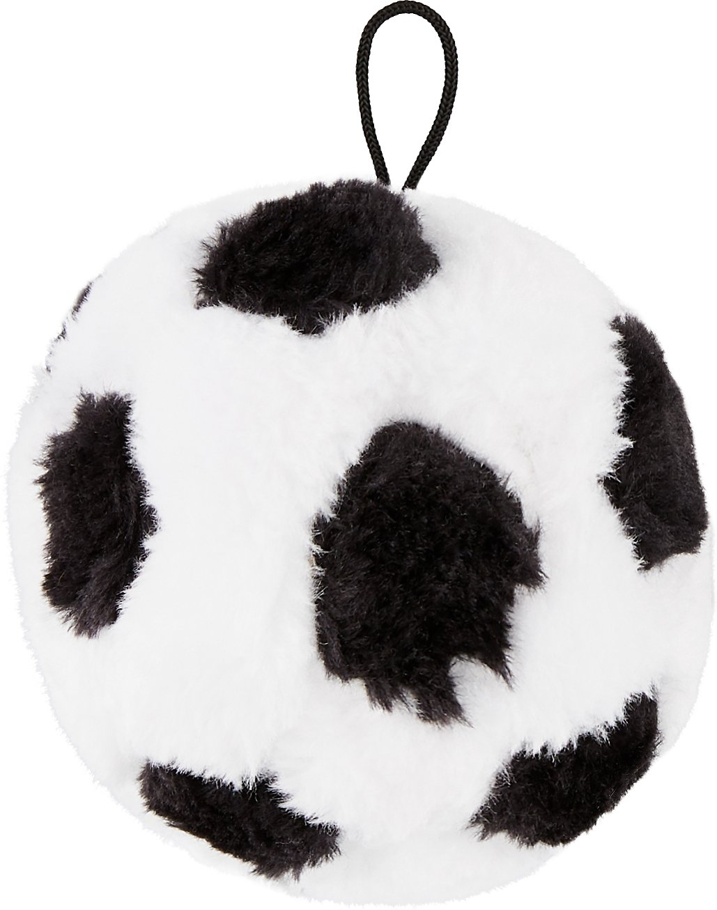 Ethical Pet Soccer Ball Squeaky Plush Dog Toy