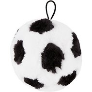 Ethical Pet Plush Soccer Ball Dog Toy, 4.5-in