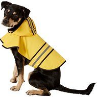 Ethical Pet Fashion Rainy Days Slicker Raincoat, Yellow, Medium
