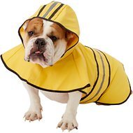 Ethical Pet Fashion Rainy Days Slicker Raincoat, Yellow, Large