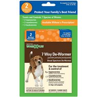 Sentry HC WormX Plus 7 Way Puppy & Small Dog De-Wormer, 2 count