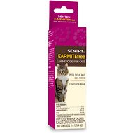 Sentry HC Earmite Free Ear Miticide for Cats, 1-oz bottle