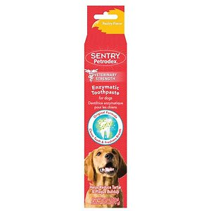 Sentry Petrodex Veterinary Strength Enzymatic Poultry Flavor Dog Toothpaste