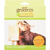 Sentry HC Groom'n Comb with Catnip Pouch Cat Self-Grooming Aid