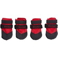 Ultra Paws Rugged Dog Boots, 4 count, Red, Small
