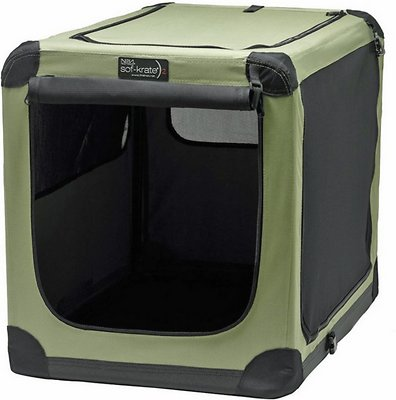 Firstrax Noz2Noz Sof-Krate N2 Series 3-Door Collapsible Soft-Sided Dog Crate