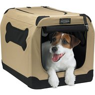 Firstrax Petnation Port-A-Crate E Series Indoor & Outdoor Pet Home, 24-inch