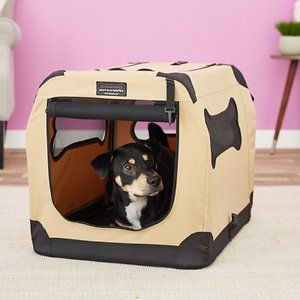 Firstrax Petnation Port-A-Crate E Series Double Door Collapsible Soft-Sided Dog Crate