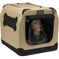 Firstrax Petnation Port-A-Crate E Series Indoor & Outdoor Pet Home, 32-in