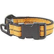 Kurgo Wander Nylon Dog Collar with Bottle Opener, Black, Small