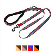 Kurgo Quantum Hands Free Dog Leash, Red/Blue