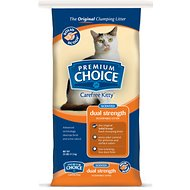 Premium Choice Carefree Fresh Scented Clumping Clay Cat Litter