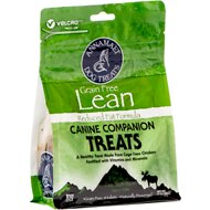 Annamaet Grain-Free Lean Reduced Fat Formula Dog Treats, 10-oz bag