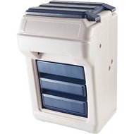 Bergan Aut-O-Dine Food Dispenser & Storage, 25-lb
