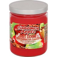 Pet Odor Exterminator Cinnamon Apple Deodorizing Candle