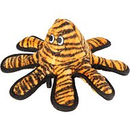 Tuffy's Mega Creature Tiger Print Octopus Dog Toy, Oscar