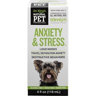 Tomlyn Natural Pet Pharmaceuticals Anxiety & Stress Homeopathic Dog Supplement, 4-oz bottle